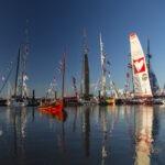 Photographies sur le Vendée Globe 2012 avec un filtre polarisant