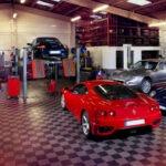 Photos industrielles dans un garage – Behind the scenes