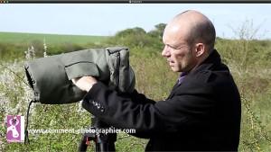 La housse de protection thermique assure une excellente ergonomie dans la manipulation de l'appareil photo
