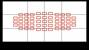 Collimateurs AF automatique, tous les collimateurs sont actifs et c'est l'appareil qui décide où sera fait la netteté.