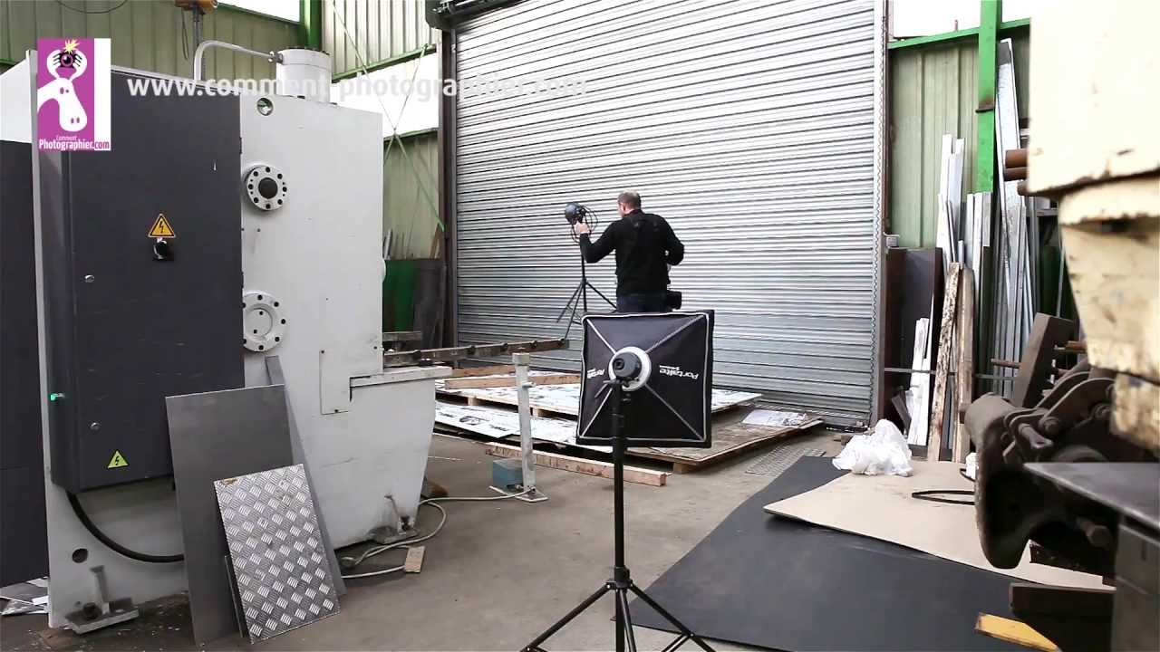 Photos industrielles pour un ferronnier d'art