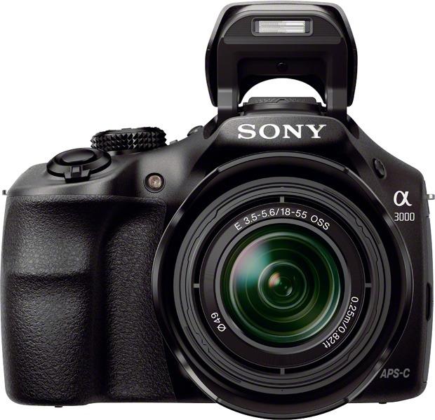 sony-a3000-face-flash