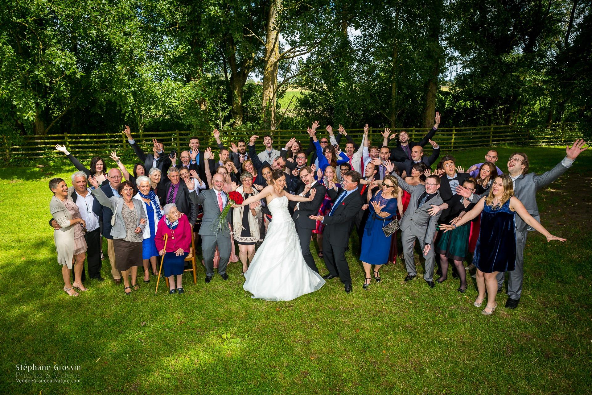 Comment photographier les groupes à un mariage
