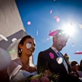 Photographier la sortie des cérémonies de mariage