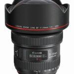 CANON EF 11-24 mm f/4L USM nouveau zoom grand-angle rectilinéaire