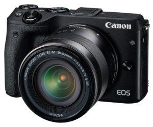 CANON EOS M3-FACE-3-4