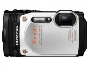 Olympus Tough TG-860-Blanc