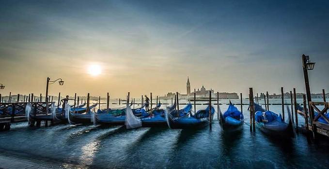 Venise-Gondoles-Saint-Marco