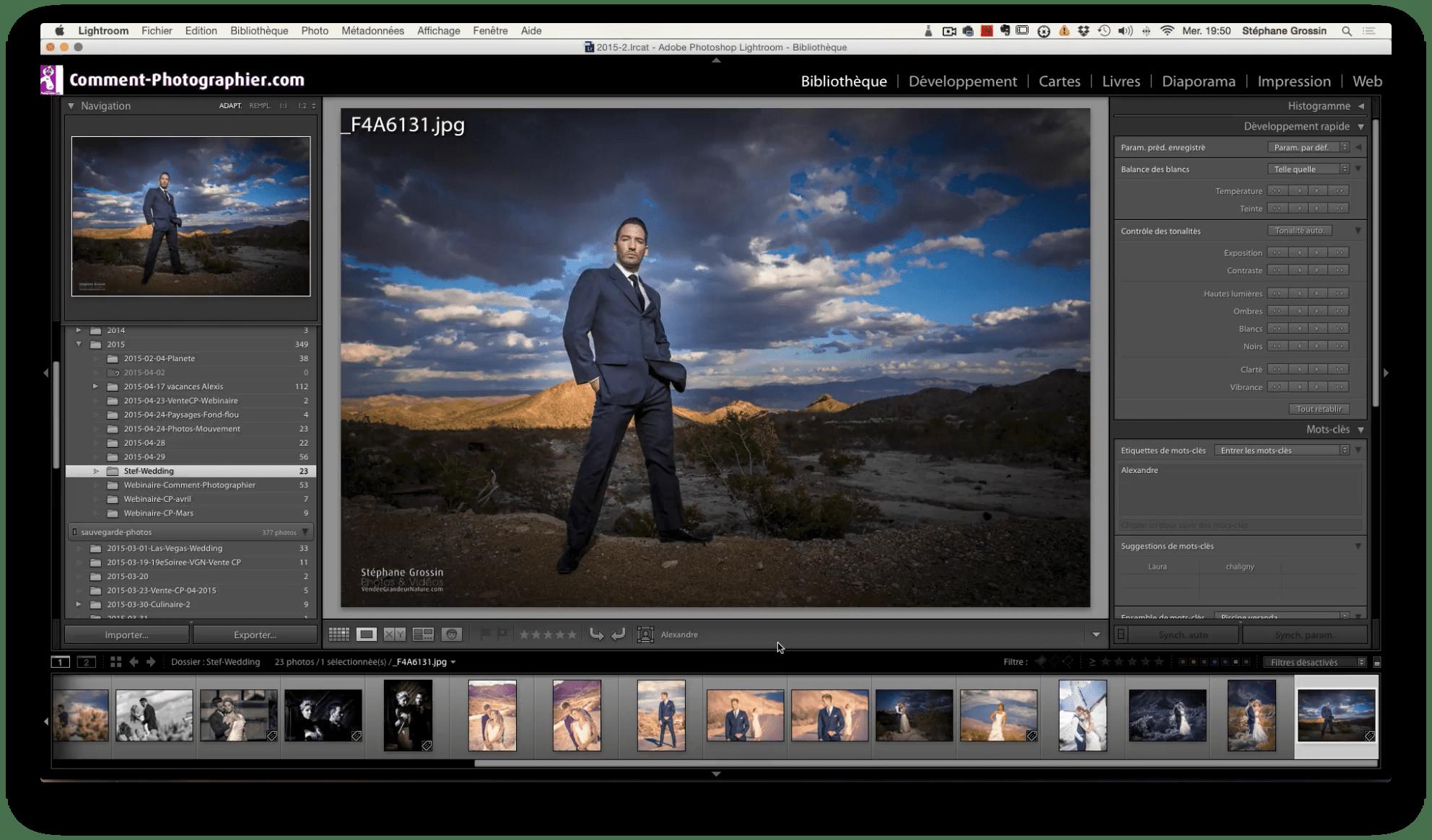 apprendre la photo avec Lightroom 6