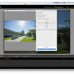 Fusion HDR et panoramique sur Lightroom