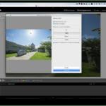 Fusion HDR et panoramique sur Lightroom