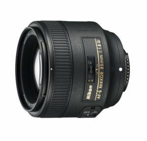 Objectif focale fixe 85 mm NIKON