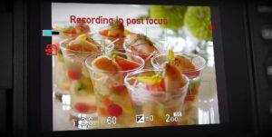 Post Focus de Panasonic après Lytro