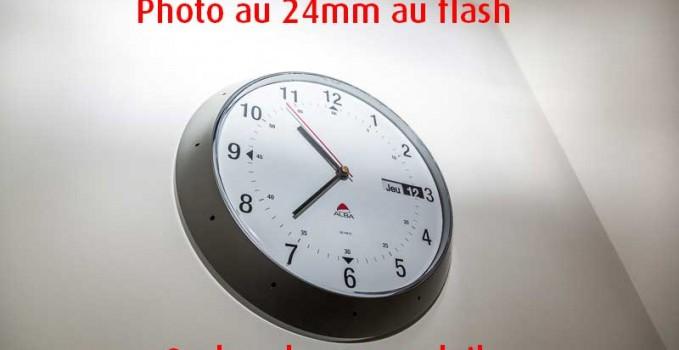 Vignettage ou mauvaise synchro flash