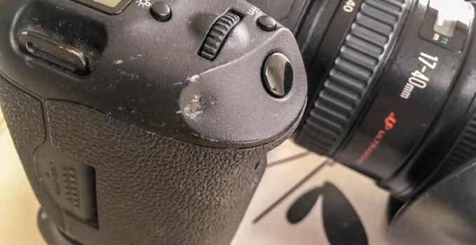 Que faire quand mon appareil photo est tombé