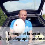 L'image et la sécurité d'un photographe professionnel