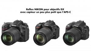 Monture Nikon-DX