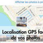 Localisation GPS facile de vos photos
