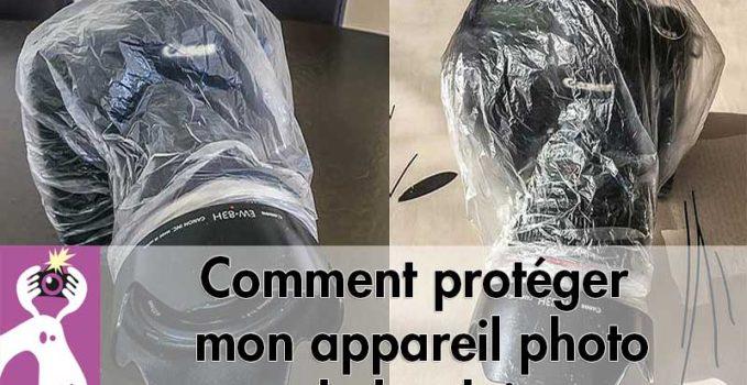Comment protéger l'appareil photo de la pluie simplement
