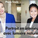 Comment faire un portrait photo en intérieur en lumière naturelle