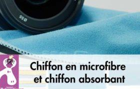 Chiffon en microfibre et chiffon absorbant