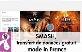 SMASH, transfert de données gratuit made in France