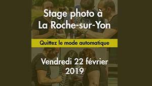 Stage Photo La Roche-sur-Yon 22 février 2019