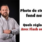 Photographies sur fond sombre, attention