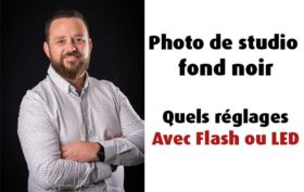 Quels réglages pour de la photo de studio au flash ?