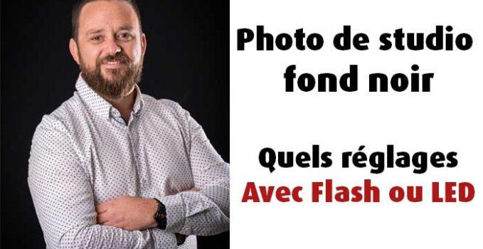 Quels réglages pour de la photo de studio au flash ?